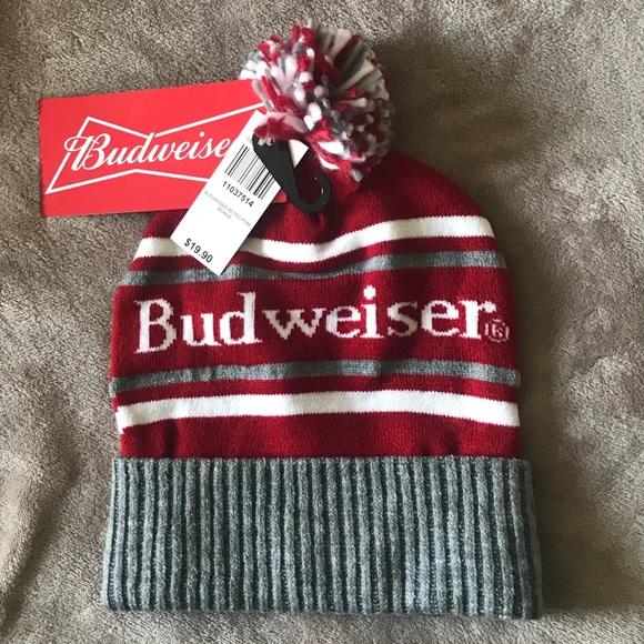 01193dcda Brand New Adult Budweiser beanie / stocking cap NWT